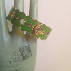 Spartina Scalloped edged bracelet